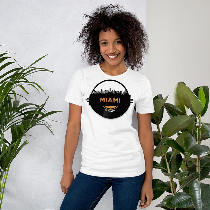 Miami Skyline Music T-Shirt