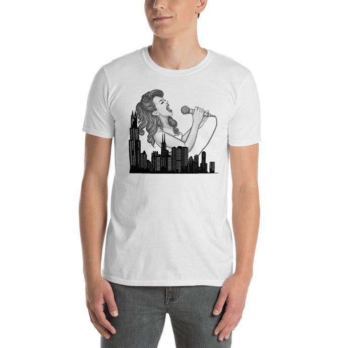 Chicago inspiration Singer Tshirt