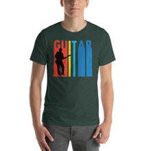 Retro Guitar Player Music T-Shirt