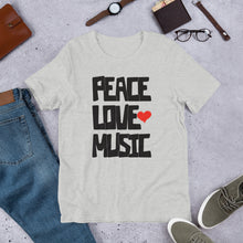 Peace , Love and Music T-Shirt