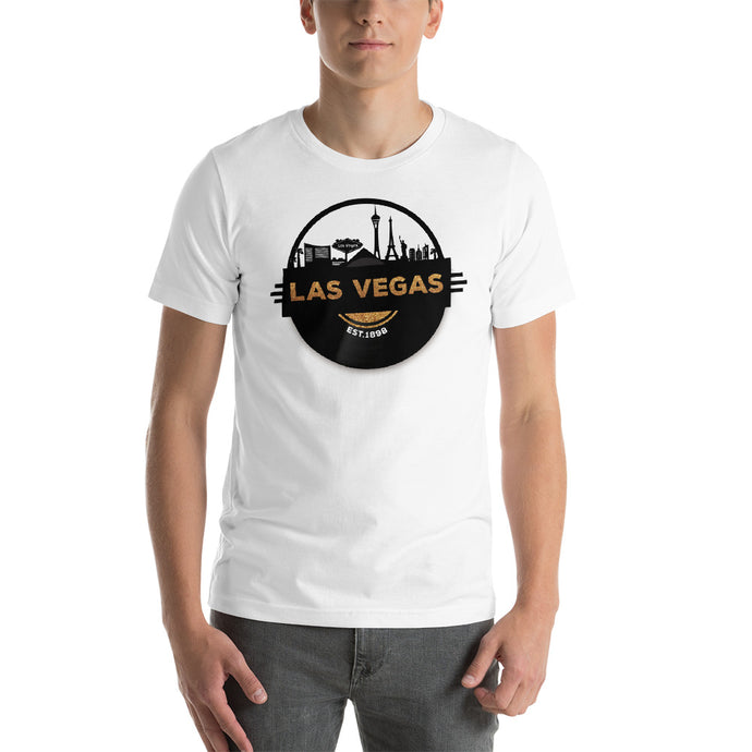 Las Vegas Skyline Music T-Shirt