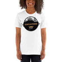Singapore Skyline Music T-Shirt