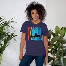 Retro Style Piano Player Music T-Shirt
