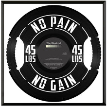 No Pain No Gain Vinyl Wall Art