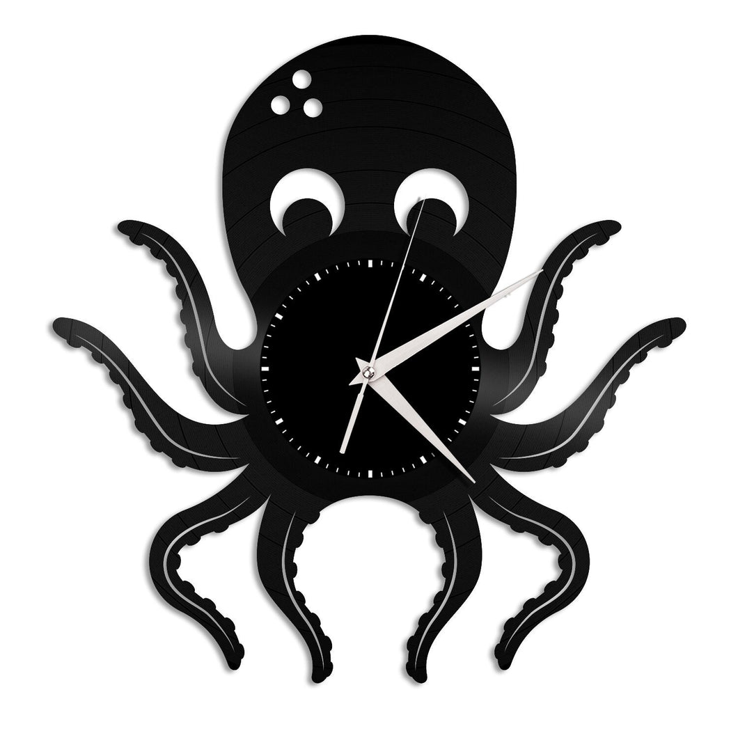 Octopus Wall Clock - VinylShop.US