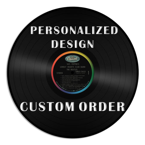 Personalized Vinyl Record
