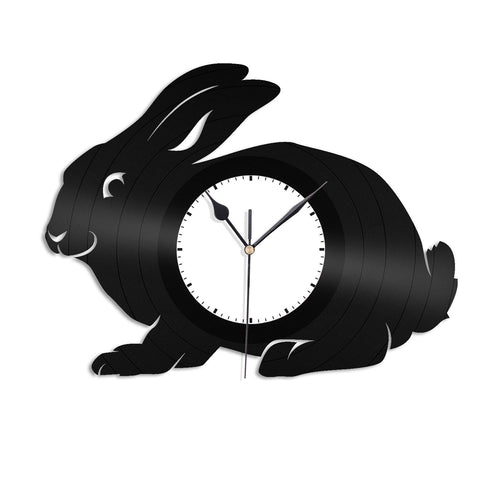 Rabbit Wall Clock - VinylShop.US