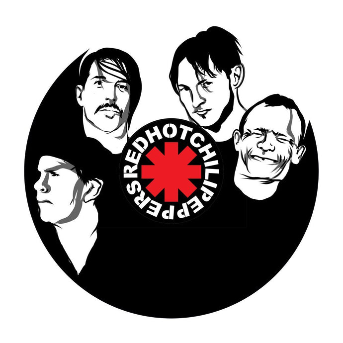 Red Hot Chili Peppers Vinyl Wall Art - VinylShop.US