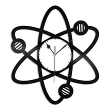 Science Atom Wall Clock