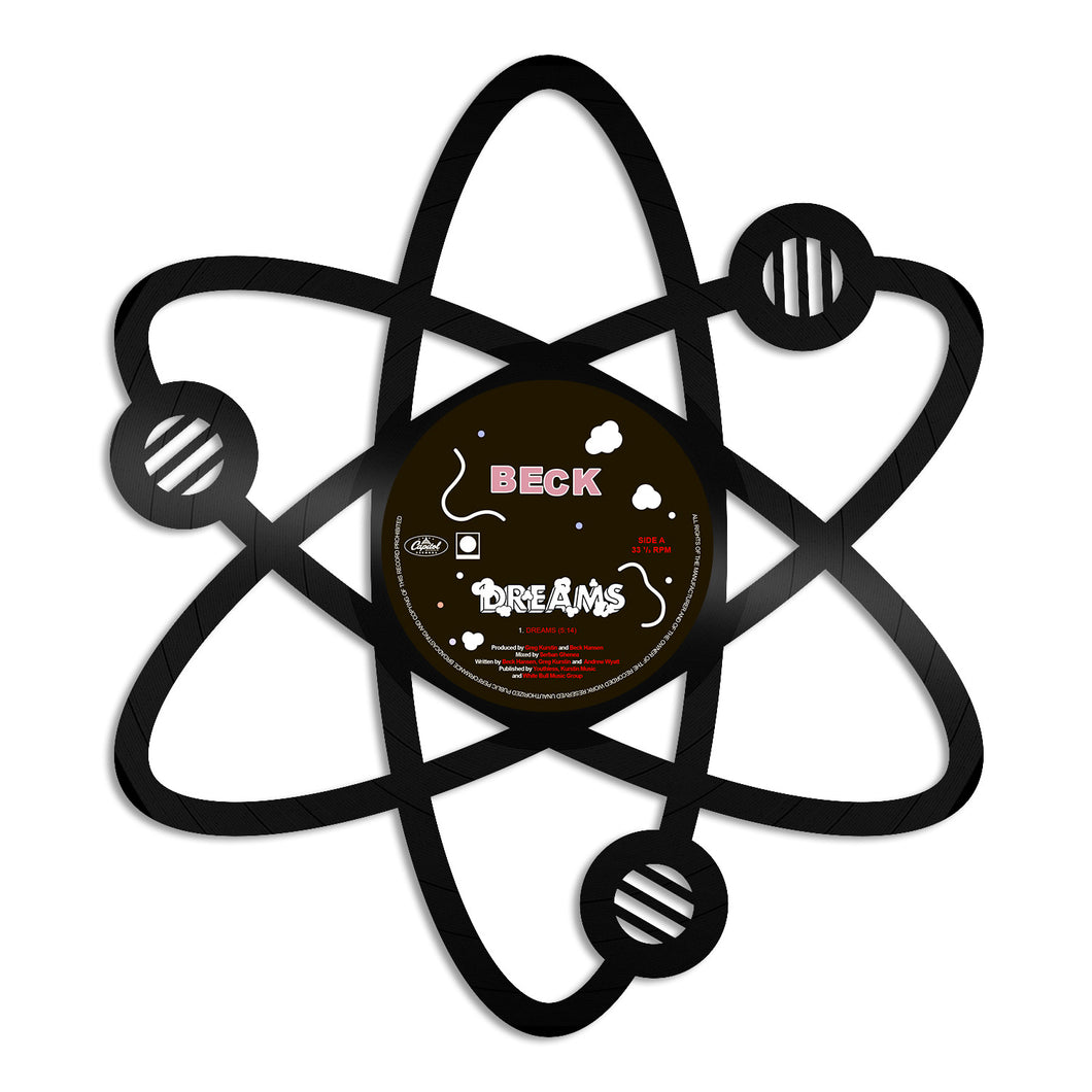 Science Atom Vinyl Wall Art
