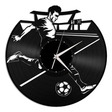 Football Vinyl Wall Clock - VinylShop.US