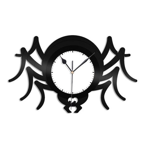 Spider Vinyl Wall Clock - VinylShop.US