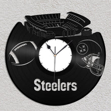 Steelers Pittsburgh football Vinyl Wall Clock - VinylShop.US