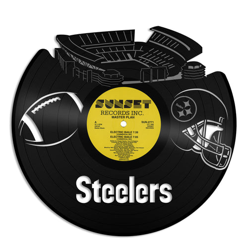 Steelers Pittsburgh football Vinyl Wall Art - VinylShop.US