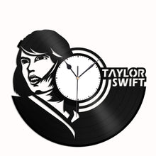 Taylor Swift Vinyl Wall Clock - VinylShop.US