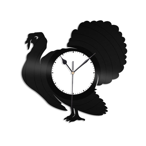 Turkey Vinyl Wall Clock - VinylShop.US