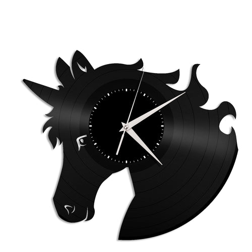 Unicorn Vinyl Wall Clock - VinylShop.US