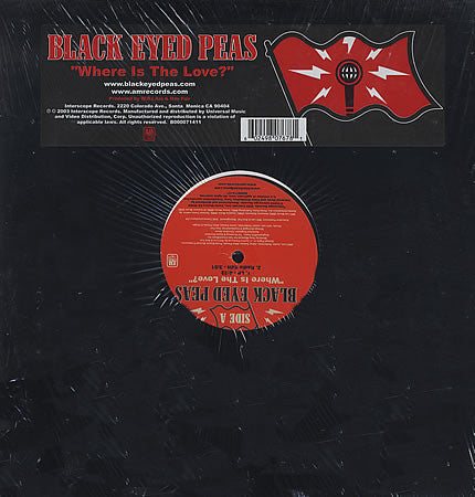 Black Eyed Peas ‎– Where Is The Love? 12