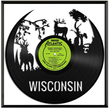 Wisconsin Forest Deers Vinyl Wall Art - VinylShop.US