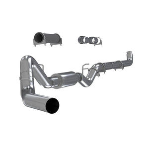 "4"" Down Pipe Back, Single Side, Off-Road (includes front Pipe) 2001-2007 2500/3500 Duramax, EC/CC"