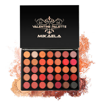 Bestseller Scarlett Eyeshadow by Valentine Palette | Highly Pigmented, Blendable Makeup Palette