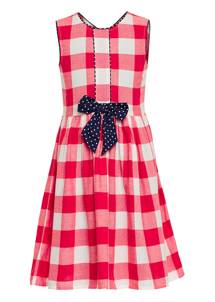 Red Party Dress - The Cranberry Club - kids clothing - Party Dresses Younger
