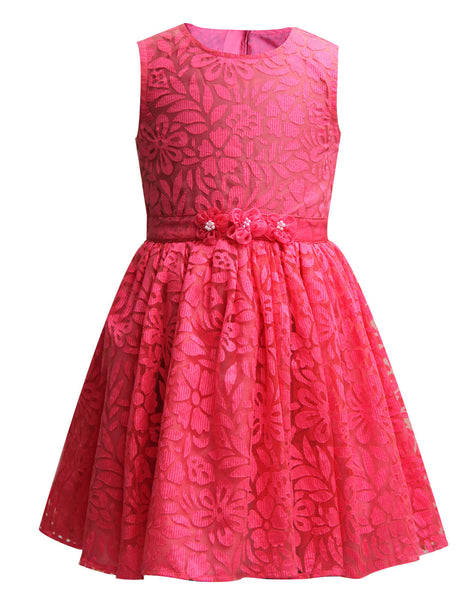 Pink Brasso Dress - The Cranberry Club - kids clothing - Cranberry Classics Younger