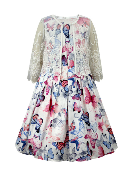 7a57194ea31 ... Cranberry Club - kids clothing - Party Dresses Younger. Multicoloured  Party Dress