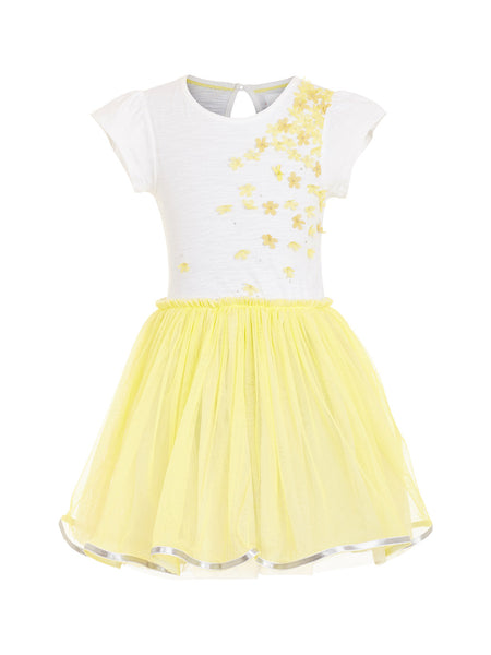 White Casual Dress - The Cranberry Club - kids clothing - Casual Dresses