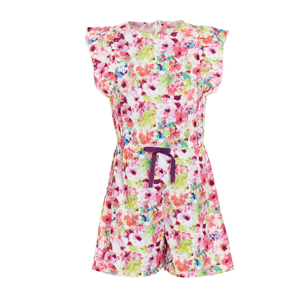 80e3ecdb94c Multicoloured Playsuit - The Cranberry Club - kids clothing - Jumpsuits   Playsuits  Younger