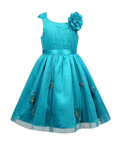 bbc12f6ca93 ... Cranberry Club - kids clothing - Party Dresses Younger · Blue Party  Dress
