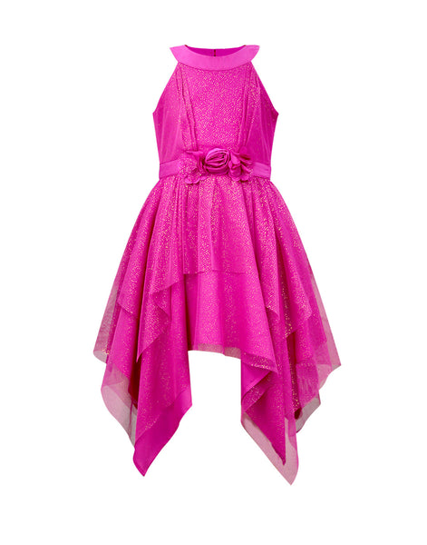 Fuchsia Party Dress - The Cranberry Club - kids clothing - Party Dresses Younger