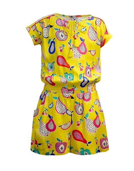 b652c6c7759 ... Cranberry Club - kids clothing - Jumpsuits   Playsuits Younger. Yellow  Playsuit