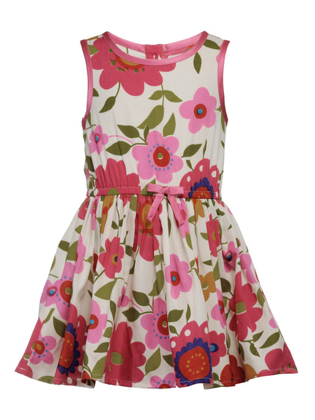 Multicolor Floral dress - The Cranberry Club - kids clothing - Cranberry Classics Younger