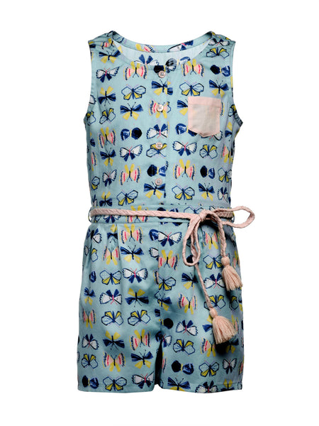 Butterfly Playsuit - The Cranberry Club - kids clothing - Jumpsuits & Playsuits Younger