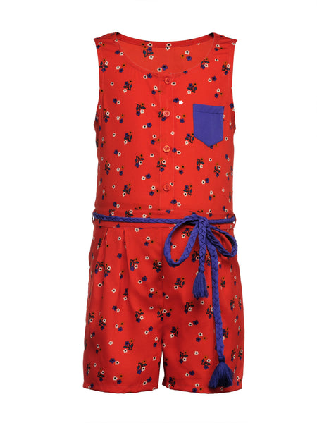 Rebelle Playsuit - The Cranberry Club - kids clothing - Cranberry Classics Younger