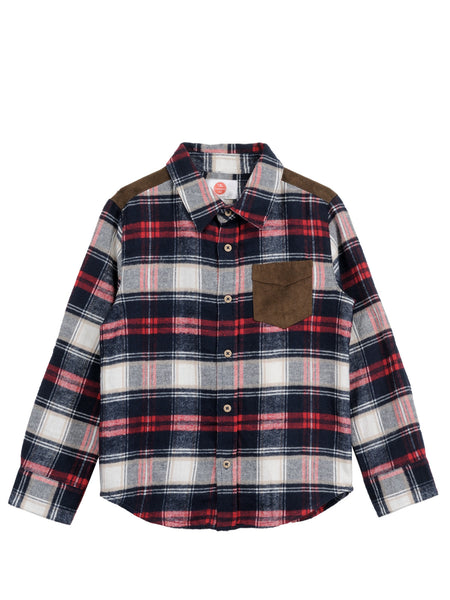 Multicoloured Shirt - The Cranberry Club - kids clothing - Boys Shirt