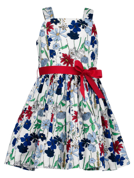Floral Smock Dress - The Cranberry Club - kids clothing - Casual Dress