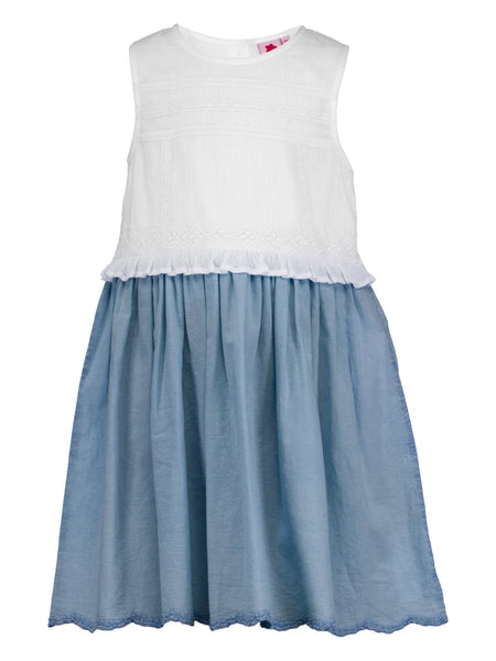 Acid wash Dress - The Cranberry Club - kids clothing - Casual Dress