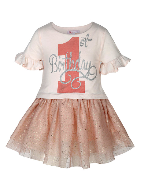 1st Birthday Dress - The Cranberry Club - kids clothing - Party Dresses