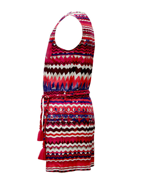 4b0040907a6 ... Chevron Playsuit - The Cranberry Club - kids clothing - Jumpsuits    Playsuits Older ...