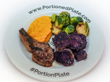 Portion Control Plate Healthy Eating x10