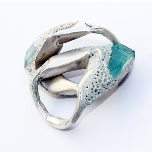 Blue - Quartz Ring