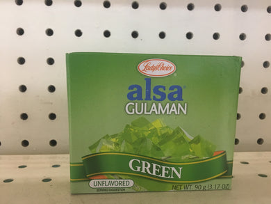 Lady's Choice Gulaman Green (Jello) Unflavored