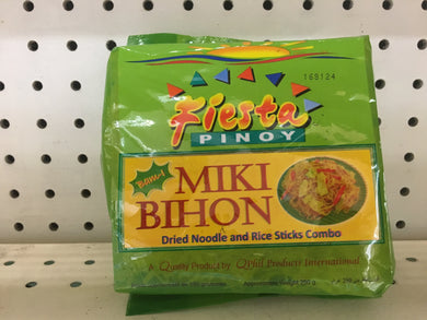 Miki Bihon Dried Noodle and Rice Sticks Combo