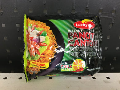 Lucky Me Pancit Canton with Chilimansi