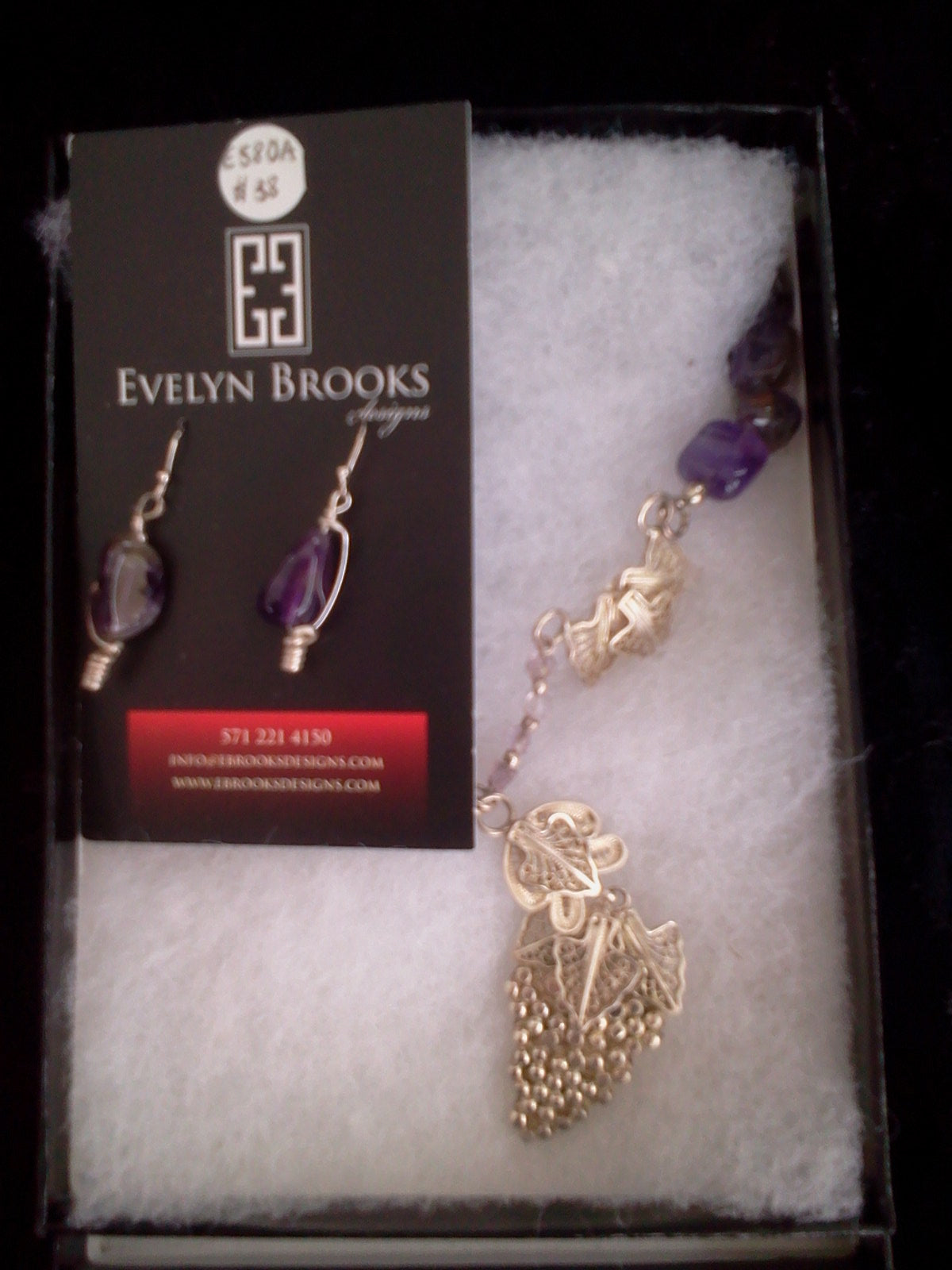 Grape Vineyard earrings perfect for the Annapolis Arts, Crafts & Wine Festival!