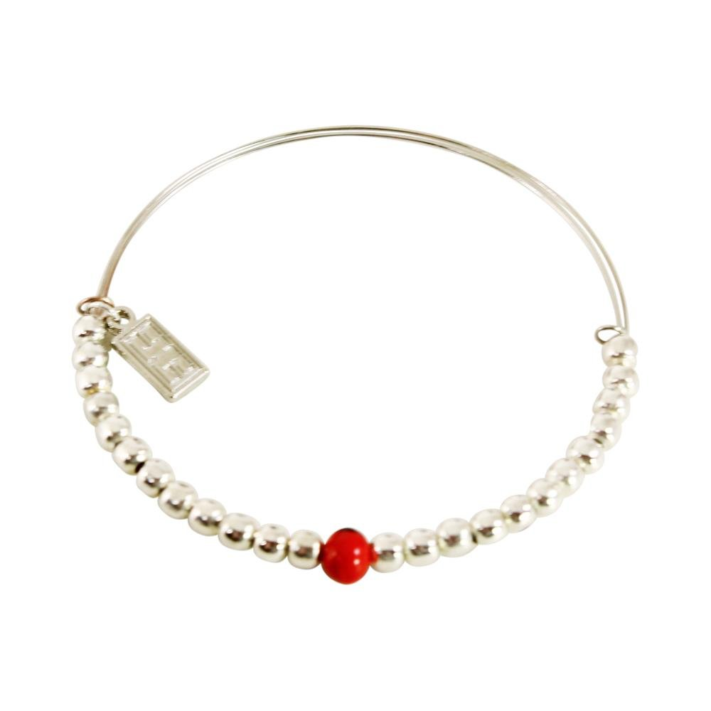 Adjustable Bangle Good Luck Bracelet - EvelynBrooksDesigns
