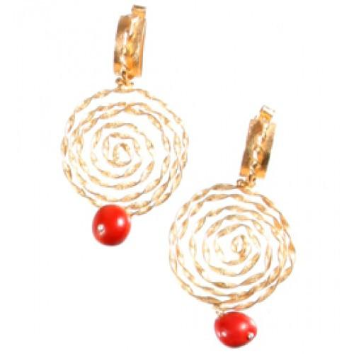 "Peruvian Inspired Meaningful Good Luck ""Nazca"" Dangle Earrings for Women 2.5"" - EvelynBrooksDesigns"