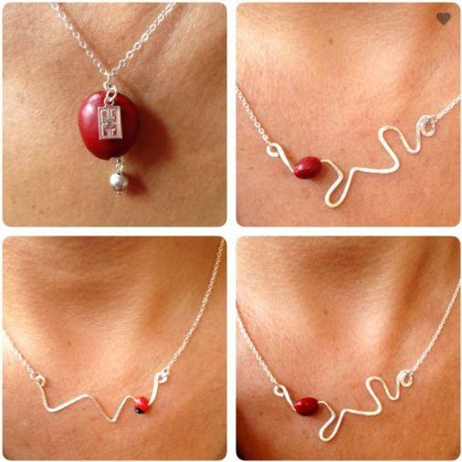 """Signature"" Good Luck Adjustable Necklace for Women w/Meaningful Seed Beads 18""-20"" - EvelynBrooksDesigns"